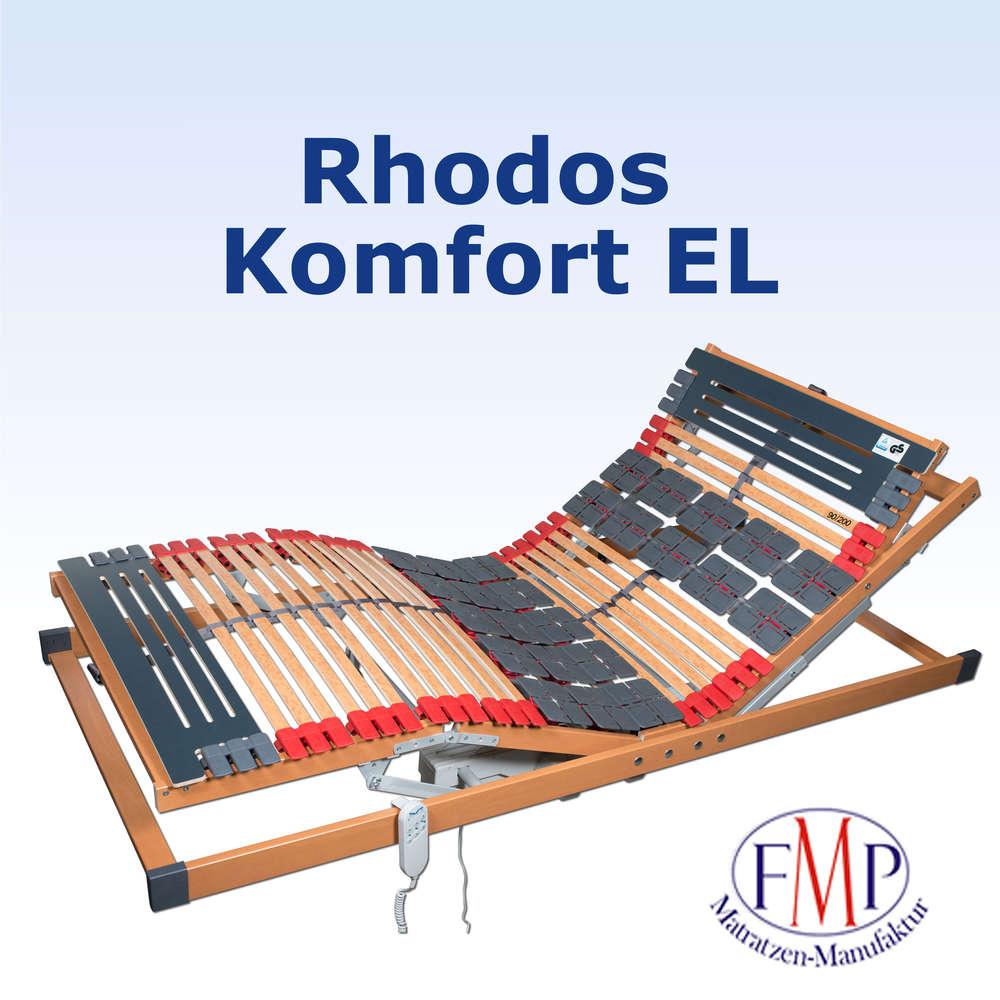 7 Zonen Teller Lattenrost Rhodos EL Komfort elektrisch verstellbar ...