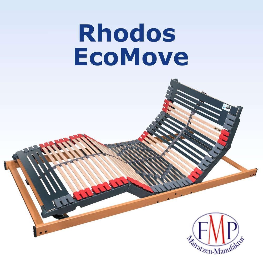 Lattenrost Rhodos EcoMove elektrisch verstellbar 44 Leisten 90x200 ...