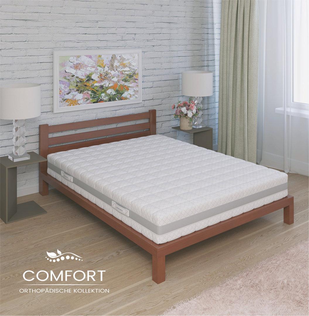 7 zonen taschenfederkernmatratze comfort pu h2 90x200 cm fmp matratzen manufaktur matratzen. Black Bedroom Furniture Sets. Home Design Ideas